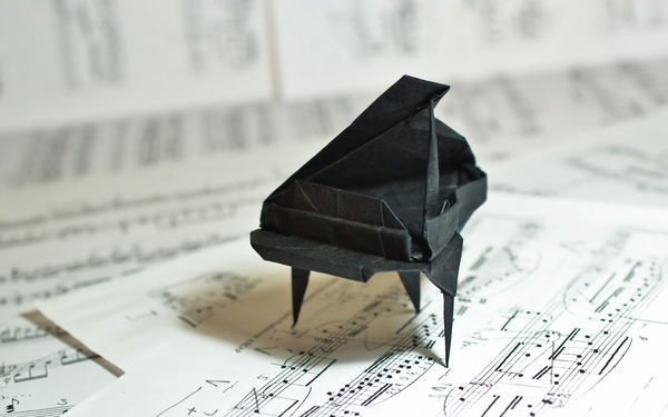 Как сделать рояль из бумаги - Pumps.ru